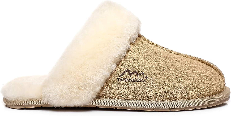 TARRAMARRA OFFicial Women's Beauty products Sheepskin Fluffy Slippers