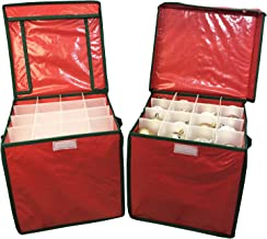 Selections Christmas Bauble Decorations Storage Box (Set of Two)