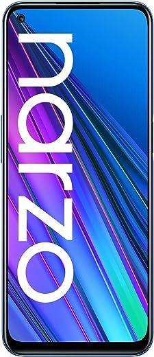 realme narzo 30 (Racing Blue, 6GB RAM, 128GB Storage) - MediaTek Helio G95 processor I Full HD+ display with No Cost EMI/Additional Exchange Offers