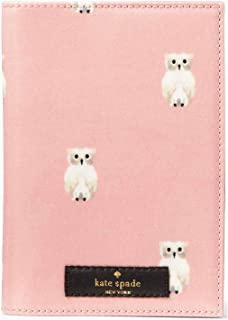 Kate Spade New York Daycation Painterly Owl Passport Holder - Rose Jade