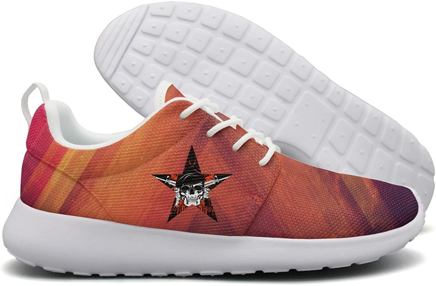 Skull In Beret With The Crossed Rifles Flex Mesh Lightweight shoes For Women