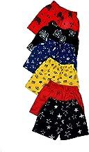 BENAVJI Boys & Girls Bermuda Shorts (Pack of 6)