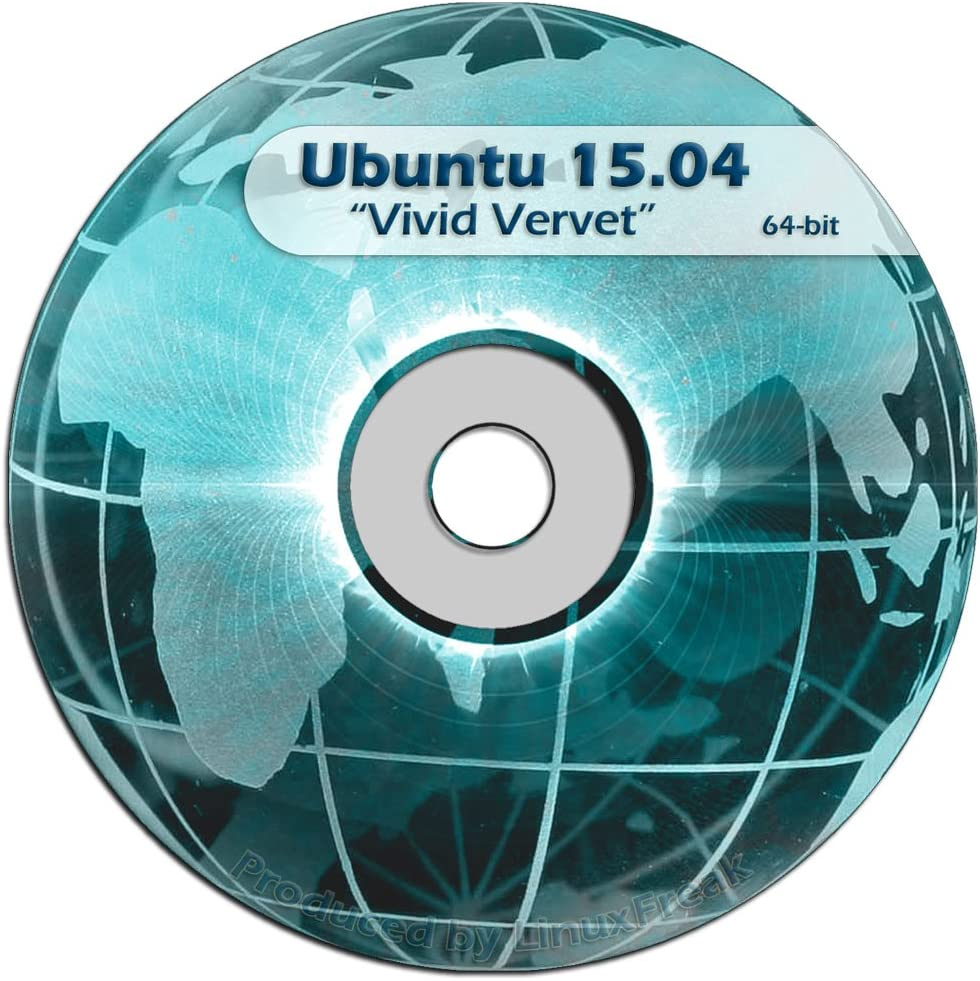 Ubuntu Linux 15.04 DVD OFFICIAL Now free Super Special SALE held shipping release 64-bit -
