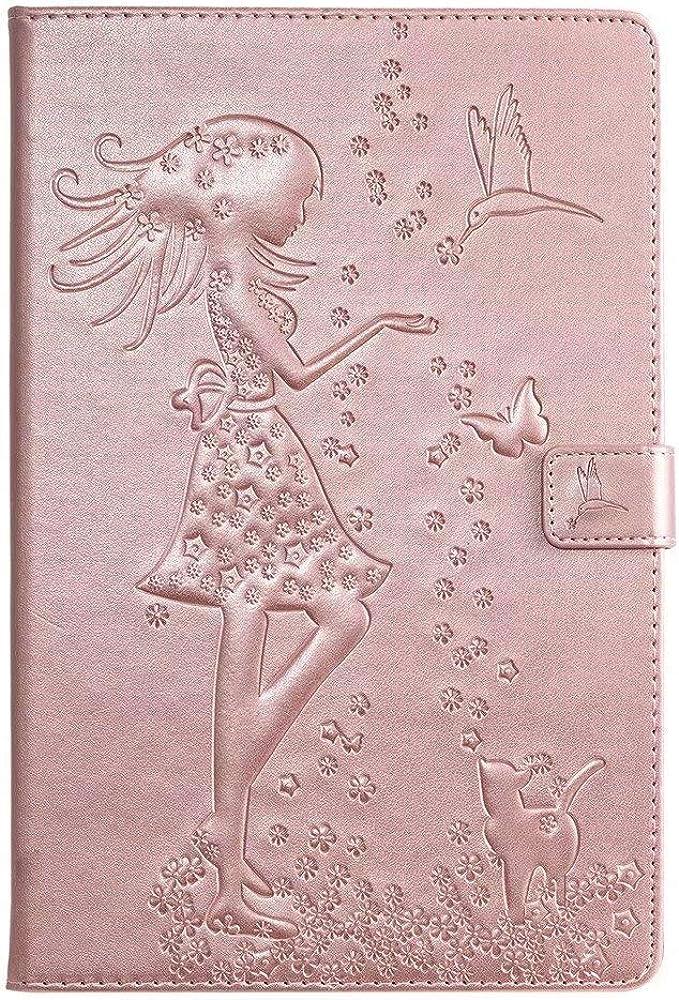 FlipBird iPad Mini 1 2 3 Jacksonville Mall 4 Case Flip Pattern Leather Max 66% OFF GirlCat 5