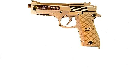 wholesale Wooden Gun, Mechanical 3D high quality Brainteaser, Toy sale Gun, Guns for Kids - 3D Wooden Puzzle Mechanical Model online