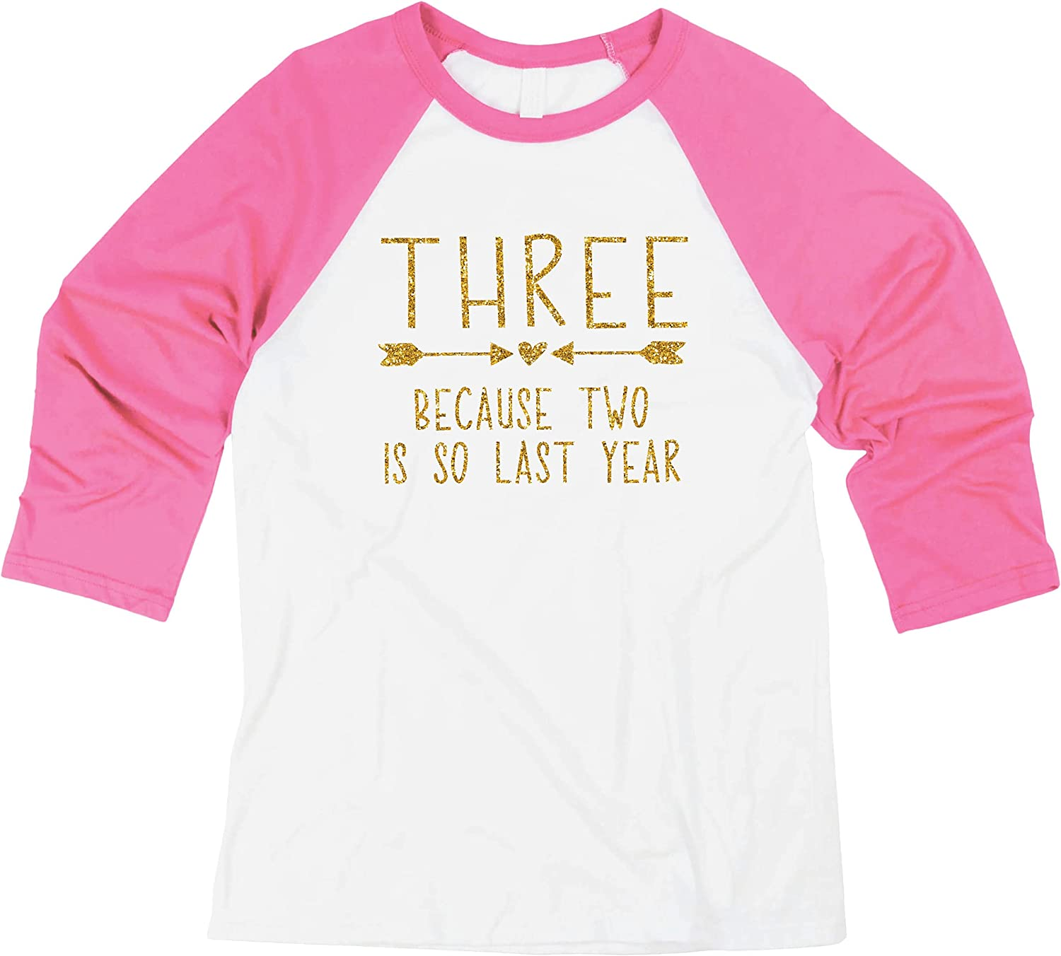 Bump and Beyond Designs Third Birthday Girl Shirt Three Year Old Girl Birthday Outfit