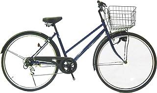 Lupinusルピナス 自転車 27インチ LP-276TA シティサイクル LEDオートライト シマノ製外装6段ギア ブラックリム 100%完成車