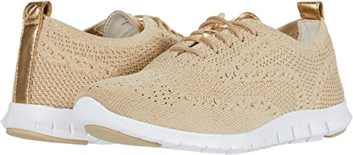 Safari Metallic Knit/Optic White