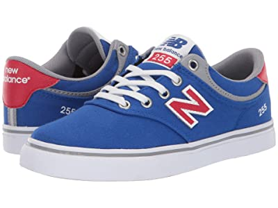New Balance Numeric 255 (Little Kid/Big Kid) (Royal/Red) Men