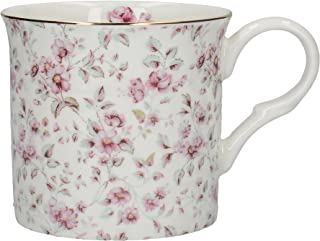 Katie Alice ''ditsy White Floral' Bone China Shabby Chic Mug