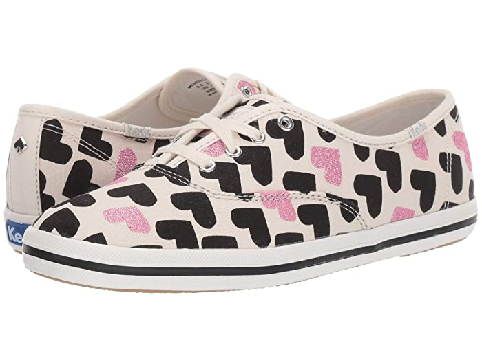 Keds x kate spade new york  Champion (Cream Canvas) Womens Shoes