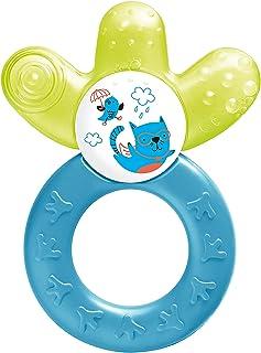 MAM Cooler New, bijtring voor baby's bevordert motoriek en visuele ontwikkeling, verkoelend bijtspeelgoed bereikt ook kiez...