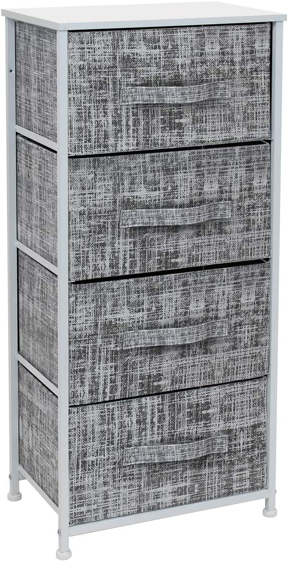 Sorbus Dresser with 4 Drawers - Seattle Mall Organize Unit Tall Storage Tower Special price for a limited time
