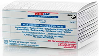 PainAid - Pain Relief - Refill Box - 100 Tablets