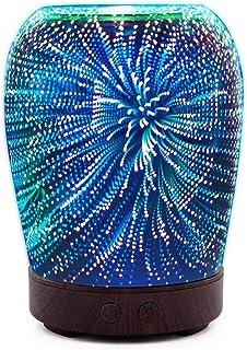 芳香 拡張器 清涼 薄霧 加湿器 アロマディフューザー 車内や家庭で使用 (Color : Fireworks)