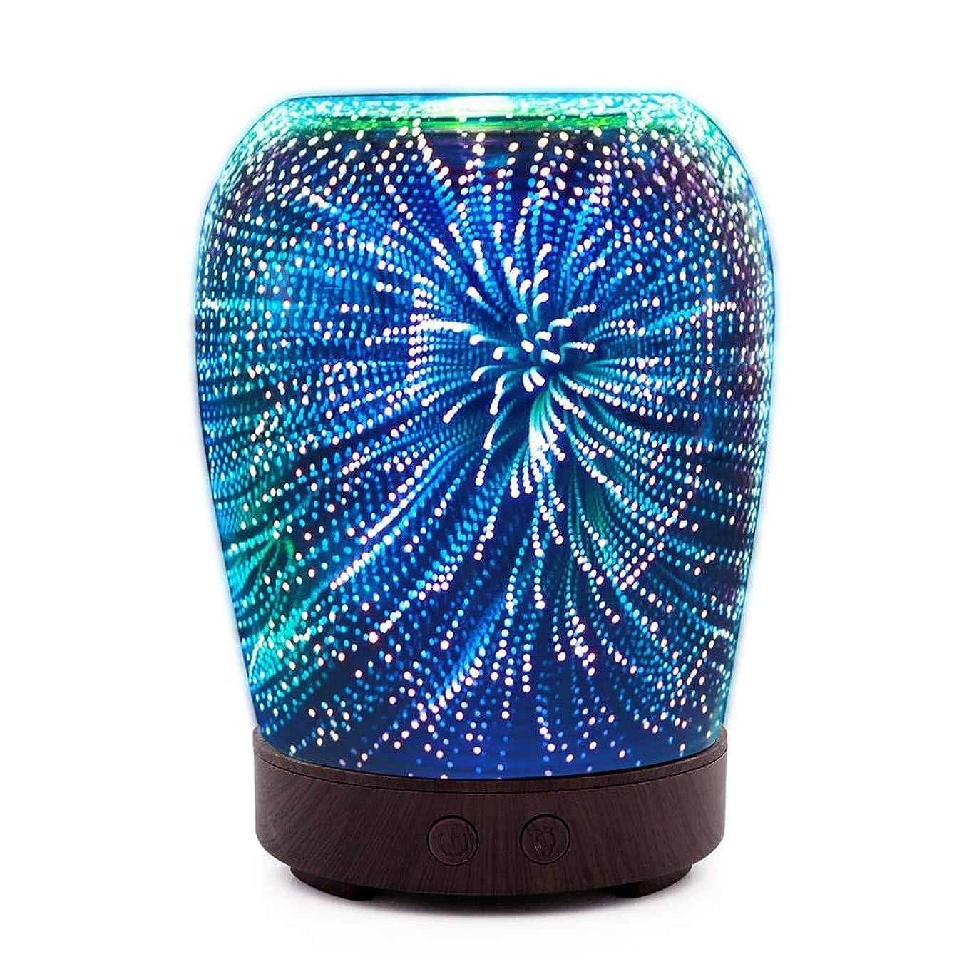 促進するメロディアス地図芳香 拡張器 清涼 薄霧 加湿器 アロマディフューザー 車内や家庭で使用 (Color : Fireworks)