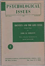 Psychological Issues, Vol. 1, No. 1: Identity and the Life Cycle / Studies in Remembering / On Perception and Event Structure and the Psychological Environment