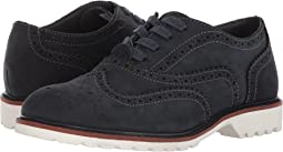 Kenneth Cole Reaction Kids Wing Brogue Nubuck (Little Kid/Big Kid)