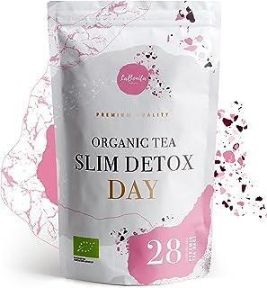 LaBonita Nature, Té Adelgazante quemagrasa para pérdida de peso pirámides 28 días. 100% Orgánico. Compuesto de té rojo pu-...