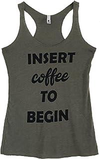 The Bold Banana Women's Insert Coffee to Begin Tank Top