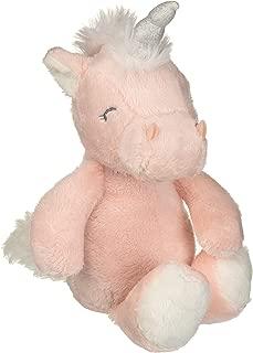 Carter's Pink Unicorn Beanbag Stuffed Animal Plush Toy, 9 Inches
