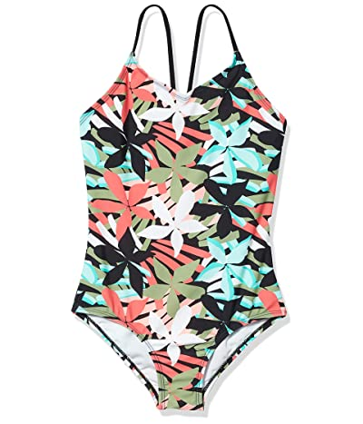 Kanu Surf Daisy Beach Sport One-Piece Swimsuit (Toddler)