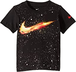 Fire Swoosh Short Sleeve Tee (Toddler)