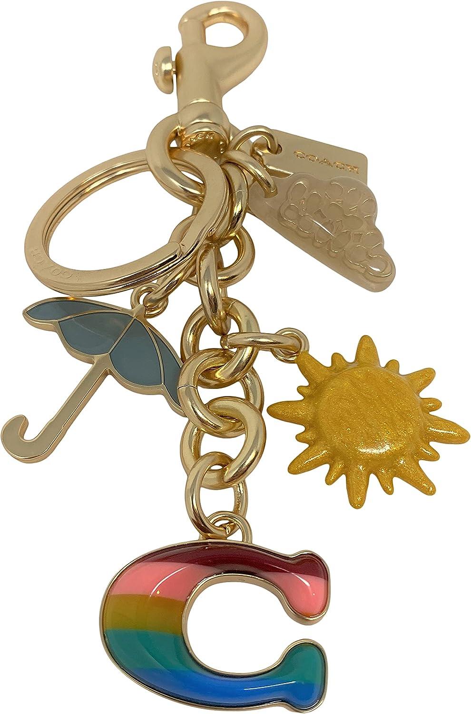 Coach Rainbow Mixed Bag Charm Key Chain Style No. C3618
