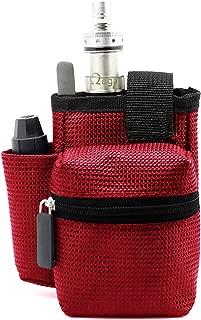 Gintai Ego Travel Carry Vape Case Multiple Use for Vape Box Mod Kit Bag (Red)