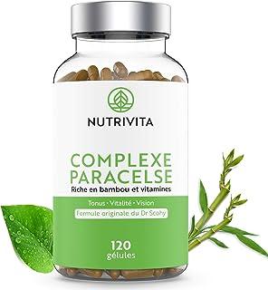 Complejo Paracelse - 120 cápsulas | Fórmula Multivitamínica Completa | Rico en Bambú. Vitaminas B y Vitamina A | Energía. Vitalidad. Salud