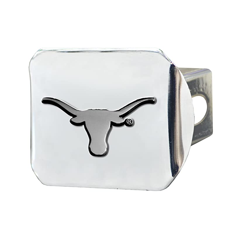 FANMATS  14999  NCAA University of Texas Longhorns Chrome Hitch Cover