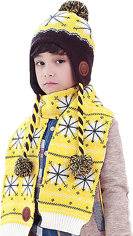 Borlai 3 Pack set shipfree Milwaukee Mall Boys Girls Hat G Boy Scarf Set Gloves Toddler
