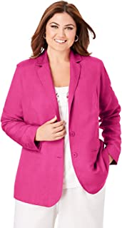 Jessica London Womens Plus Size Jewel Jacket Dress