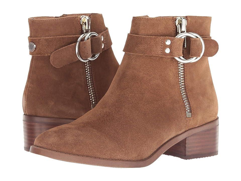 c83bf679a2c Steve Madden Deja Bootie (Cognac Suede) Women s Pull-on Boots