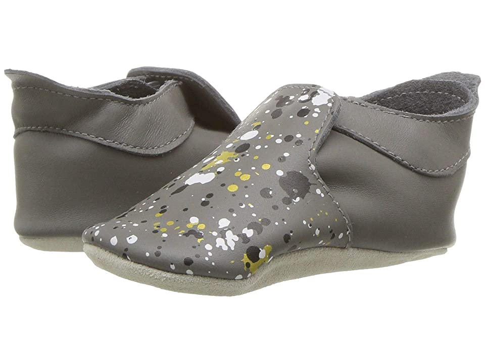 Bobux Kids Soft Sole Spekkel (Infant) (Grey) Kid
