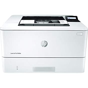 HP LaserJet Pro M404n Laser Printer with Built-in Ethernet & Security Features, Works with Alexa (W1A52A)