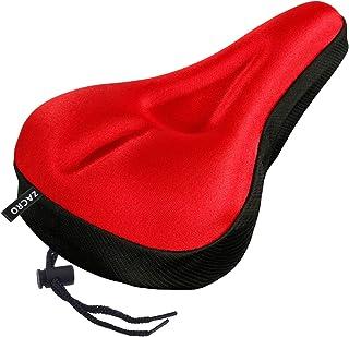 Zacro Gel Bike Seat Cover- Extra Soft Gel Bicycle Seat – Bike Saddle Cushion with..