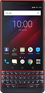 BlackBerry KEY2 LE Smartphone, Atomic Red