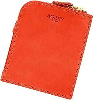アジリティアッファ(AGILITY affa)『フラットウォレット』財布 極薄財布 コンパクト 薄い 本革 レザー 本革 ショートウォレット