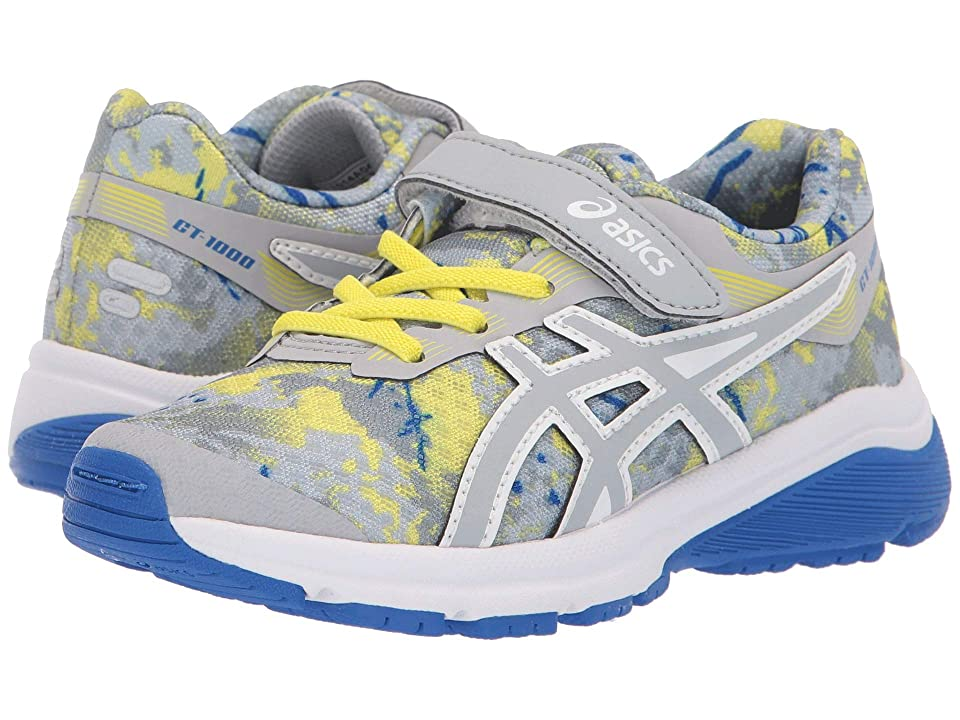 ASICS Kids GT-1000 7 PS SP (Toddler/Little Kid) (Mid Grey) Boys Shoes