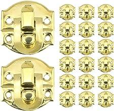 LINVINC 20-delige boxvergrendelingsset - 26 mm x 29 mm Mini-haspvergrendelingen Toggle Catch Lock Sieradenkoffers Catch Ha...
