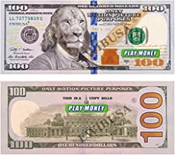 EWIBUSA Complete Prop Money Imitate Currency ,HD Quality $100 Total $20,000 Dollar Wedding/Party/Scenario Supplies,China Ver .Fully Meet The Video/Movie/Tv/Music Video Production