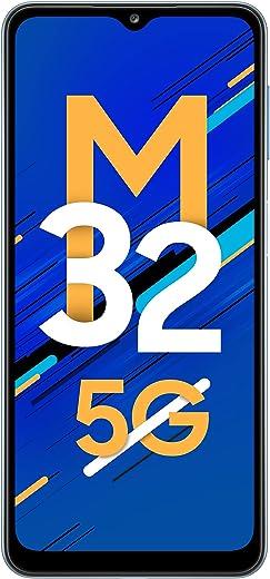 Samsung Galaxy M32 5G (Sky Blue, 6GB RAM, 128GB Storage) INR 2000 Off on ICICI Bank Credit Cards
