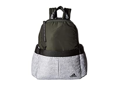 adidas VFA Backpack (Legend Earth Green/Grey Jersey/Black) Backpack Bags