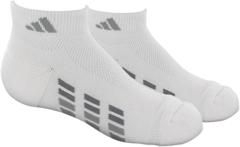 adidas Youth Climacool X Low Cut Medium Sock, 2 Pair