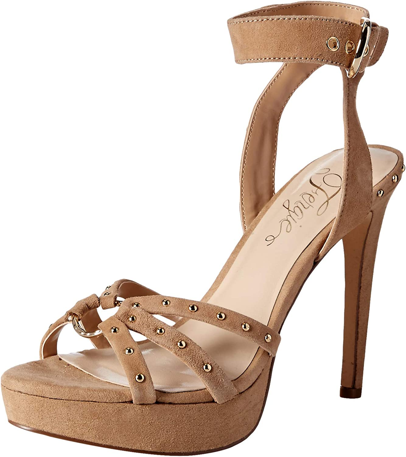 Fergie Womens Reckless Heeled Sandal