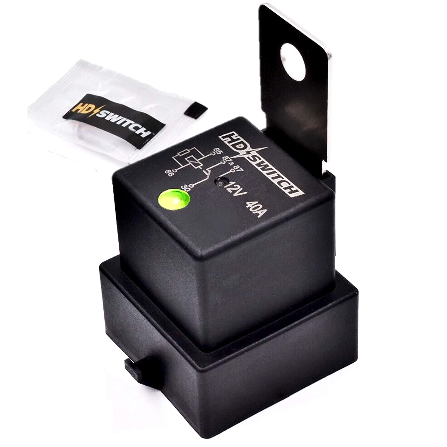 Max 60% OFF HD Switch Waterproof Relay w 4RD-96 Replaces Indicator LED Hella Cheap mail order sales