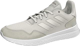 adidas Archivo Women's Running Shoe, Cloud White/Cloud White/Platin Metallic