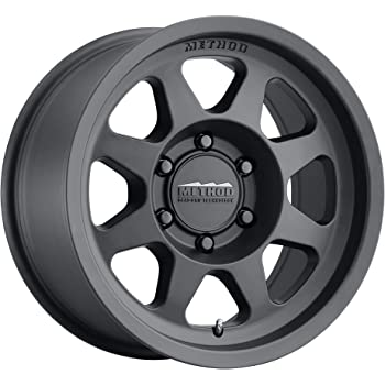 "Method Race Wheels 701 Matte Black 16x8"" 6x5.5"", 0mm offset 4.5"" Backspace, MR70168060500"