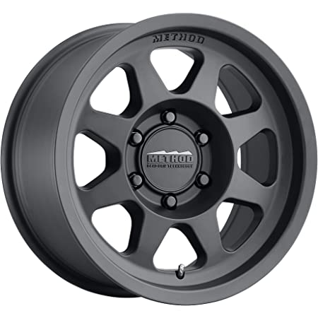 "Method Race Wheels 701 Matte Black 17x8.5"" 6x5.5"", 0mm offset 4.75"" Backspace, MR70178560500"